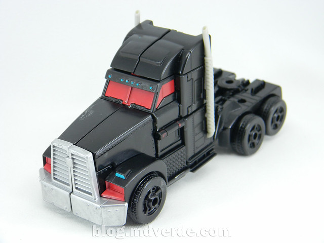 Transformers Nemesis Prime Voyager - Transformers Prime First Edition Custom - modo alterno
