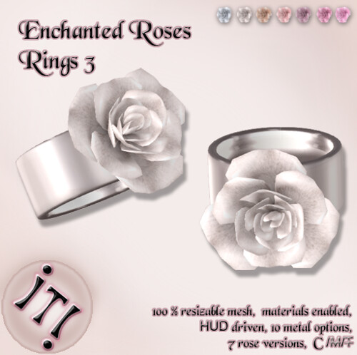 !IT! - Enchanted Roses Rings 3 Image