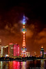 Pearl tower, Shanghai by Colleen Easley
