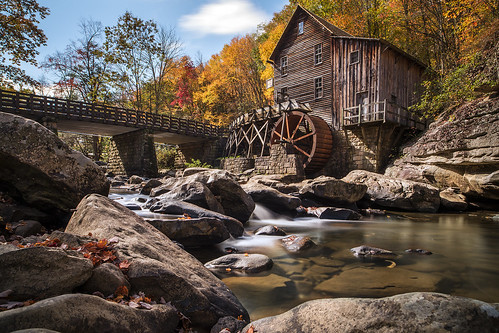 Fall at Glade Creek