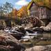 Fall at Glade Creek by Joe Ganster