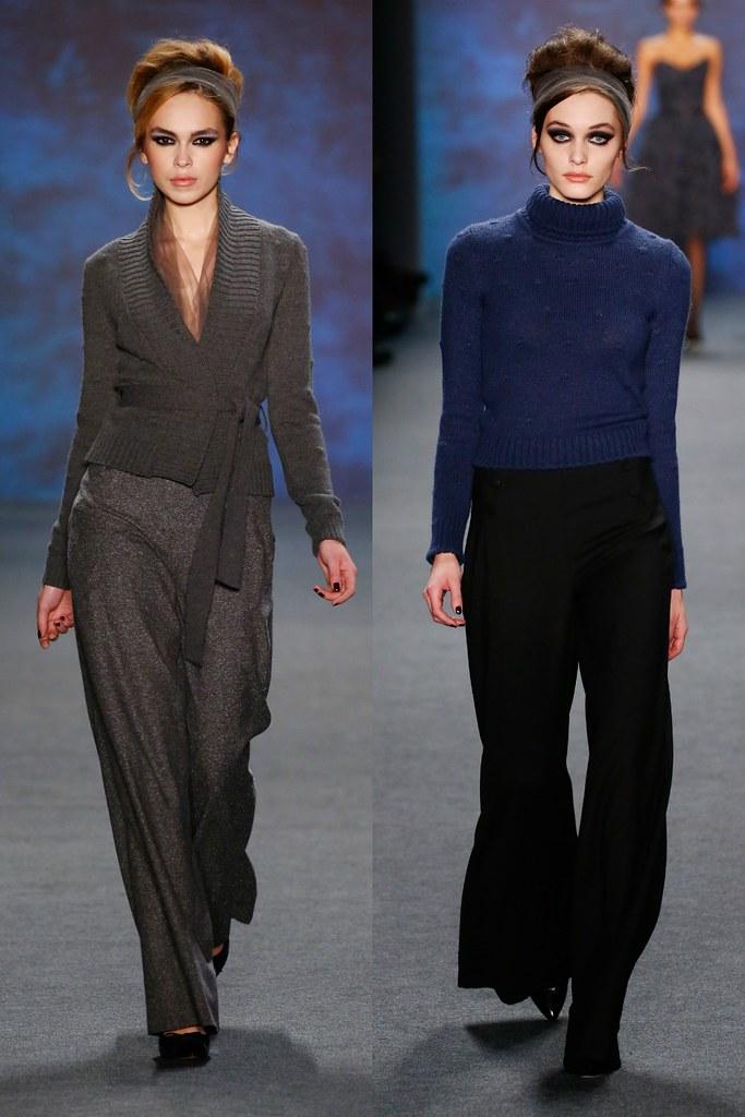 MBFW A/W 2015 Collection Review Austrian Designer Lena Hoschek. I www.StyleByCharlotte.com #Blue #Vintage #VintageInspired
