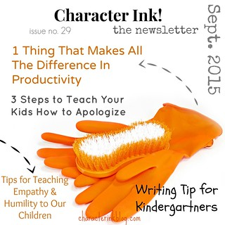 Character Ink Newsletter no. 29