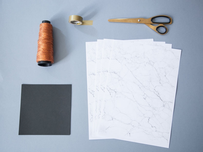 diy-girnaldas-calabazas-halloween-papel-marmol-materiales