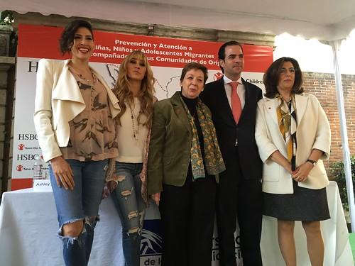 HSBC México y Save the Children refrendan compromiso con migración infantil
