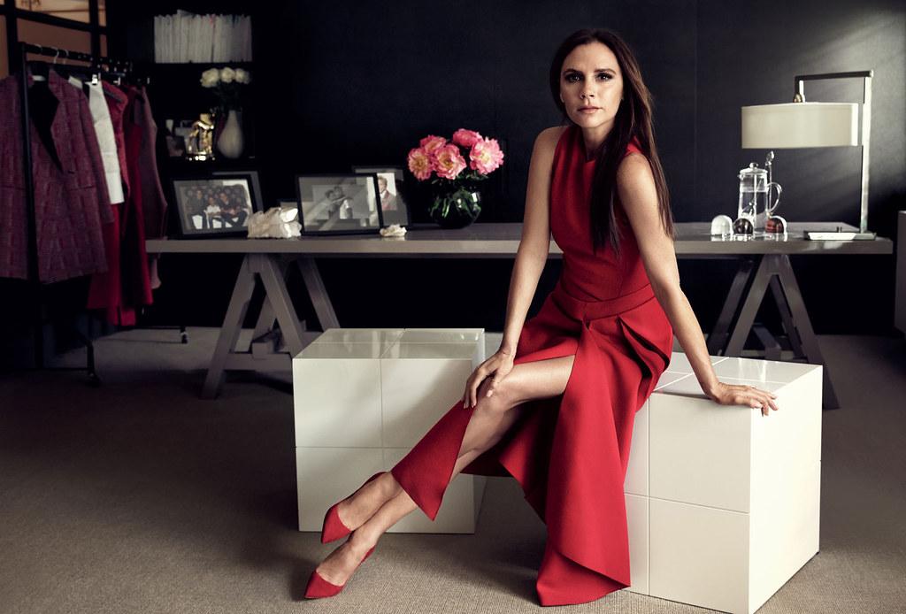 Виктория Бекхэм — Фотосессия для «Glamour» 2015 – 1