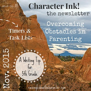Character Ink Newsletter No. 35