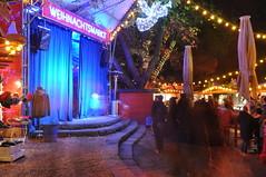 Bühne am Weihnachtsmarkt Stadtgarten