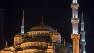 תמונה של The Blue Mosque ליד Eminönü. turkey istanbul bluemosque sultanahmetcamii
