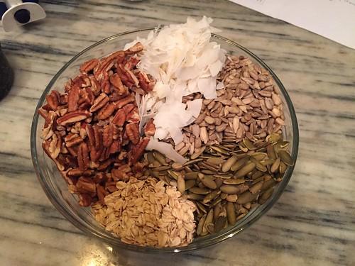 Early bird granola