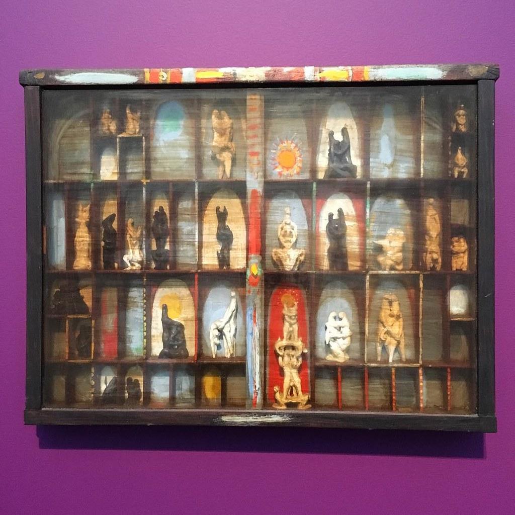 Painter's Box, Marisol Escobar 1956 #mca