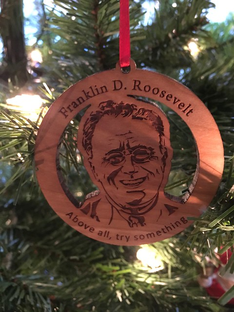Franklin D. Roosevelt Ornament