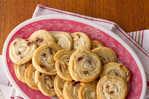Goat Cheese and Fig Pinwheels