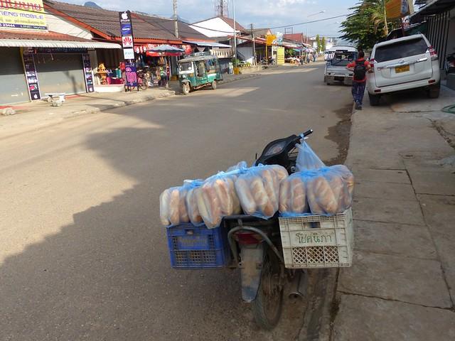Livraison de pain