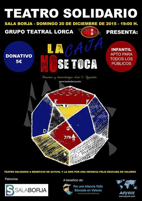 TEATRO SOLIDARIO La Caja No se Toca