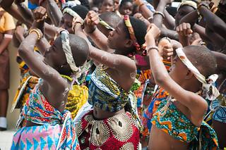 "USAID Inaugurates Gbegbeyesie ""A & B"" Cluster of Schools"