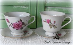 Decorating With Vintage China