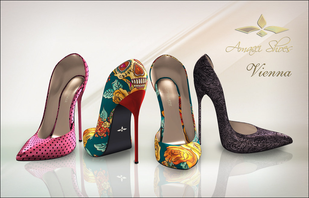 Amacci Vienna Shoes - Exclusive Set - SecondLifeHub.com