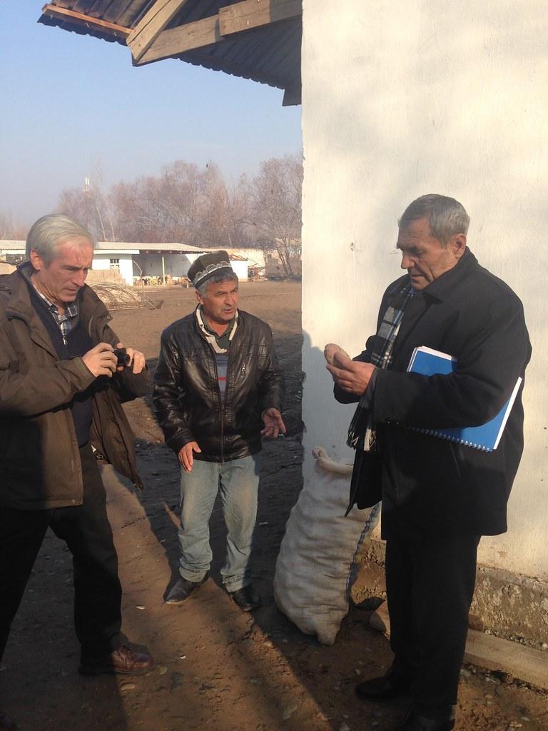 Field visit in Khatlon, January, 2017