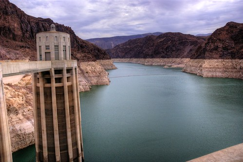 usa nevada arizona hoover dam represa presa lake lago artificial water agua mead hdr hrd