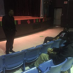 @rayzor379 speaking to our Scholars today's at Wed Lunch and Learn!  The New Fa-Harra University Mascot Tee is Now Available at www.faharra.com  AWLDAY!  #YouAwlReadyNoIt!  #ffvlikeloveshare!  #FFVWORK #TEAMLOVE  IG, @faharrafvision Twitter, @faharrafvisi