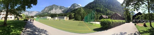 Panoramabild  Bundessport und Freizeitzentrum Obertraun