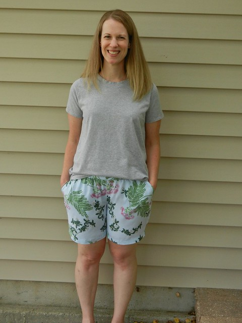 Carolyn Shorts Union St Tee 3
