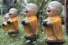 Small Buddhist statues, Chiang Mai, Thailand