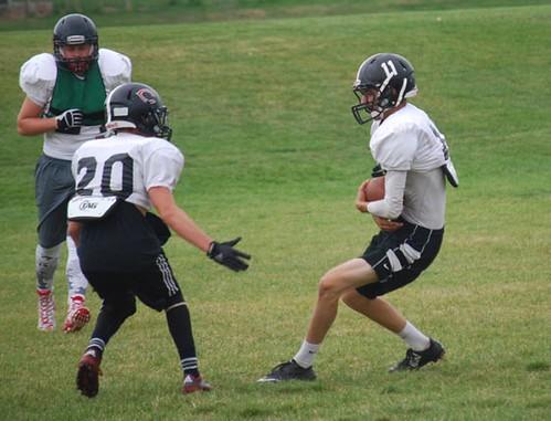 Football practice 10