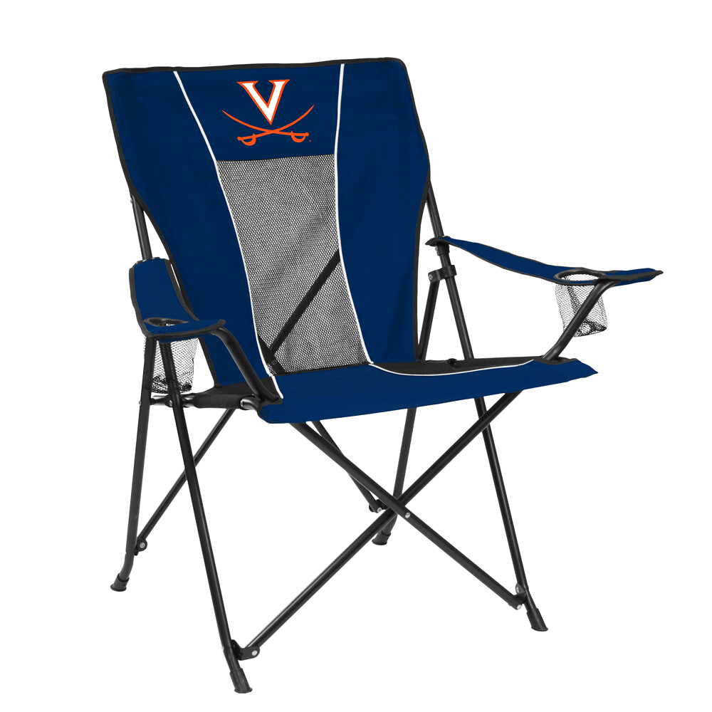 Virginia GAME TIME TailGate/Camping Chair