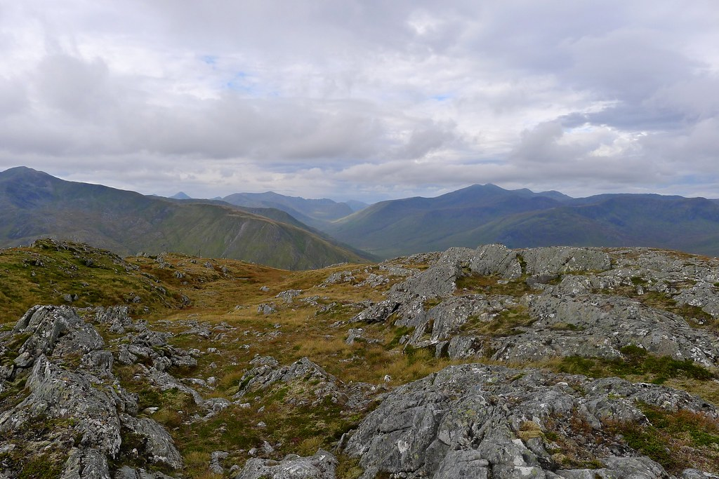 Western Affric from Carn a' Choire Ghairbh