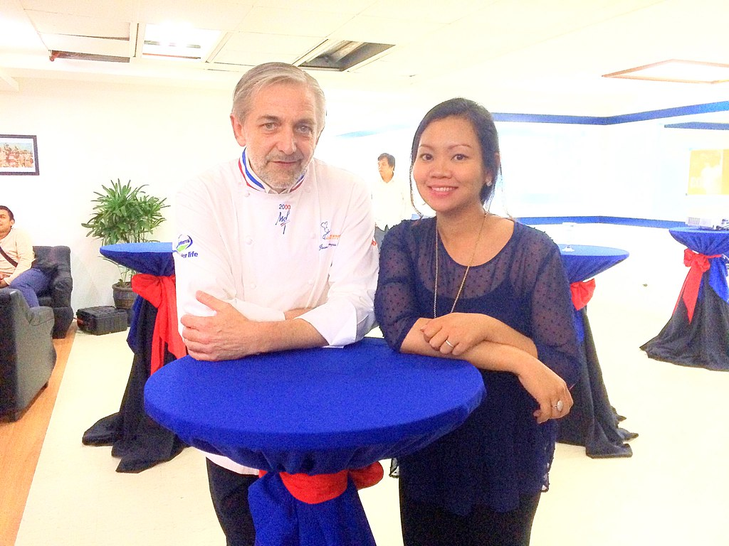 With Chef Jean Louis Arnaud