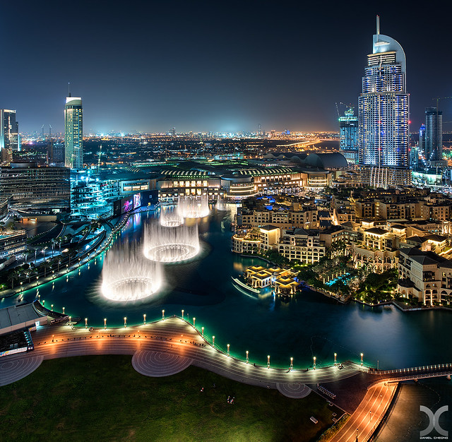 Dubai Mega Fountains