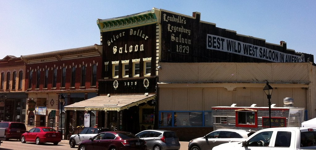 Leadville Silver Dollar Saloon 1879