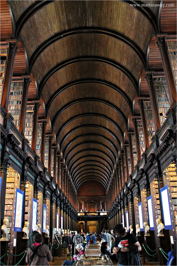 Long Room @ Trinity College.