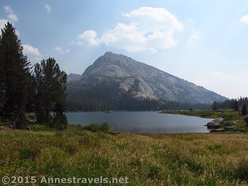 Views toward Schiestler Peak from the northern end of Big Sandy Lake, Wind River Range, Wyoming