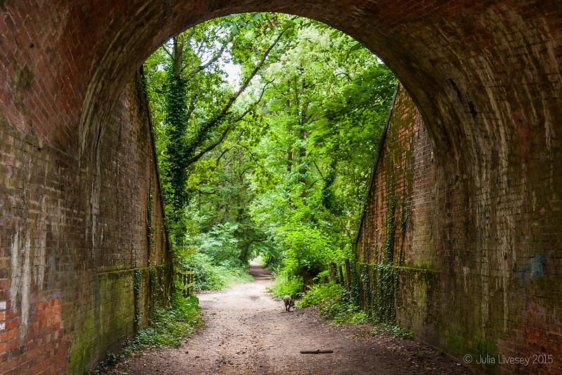 Jez wanders up the Roman Road