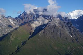 036 Wrangell St Elias NP vanuit de lucht