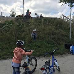 Im Bikepark.