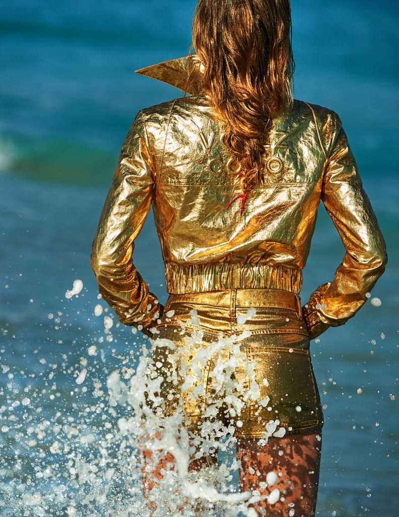Даутцен Крус — Фотосессия для «Vogue» FR 2015 – 1