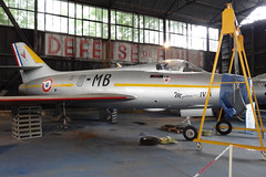 8-MB MYSTERE IVA  LFOC CHATEAUDUN AIRPORT