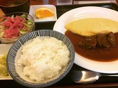 beef stew omelette♡  #l'ami #kobe #hyogo #洋食 #ラミ #神戸