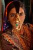 Daneta jat young woman portrait, Gujarat,India