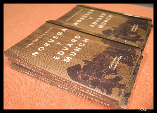 Libro Cuaderno de viaje. Noruega y Edvard Munch