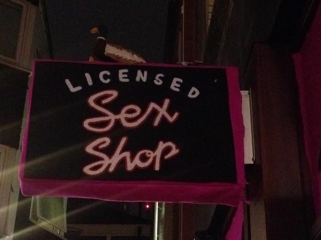 Licensed Sex Shop