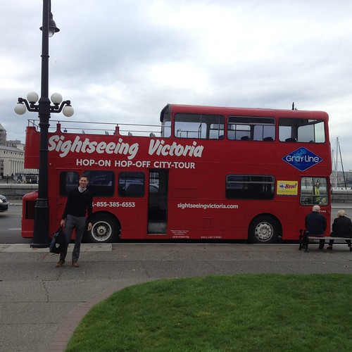 Double Decker Bus, Victoria BC