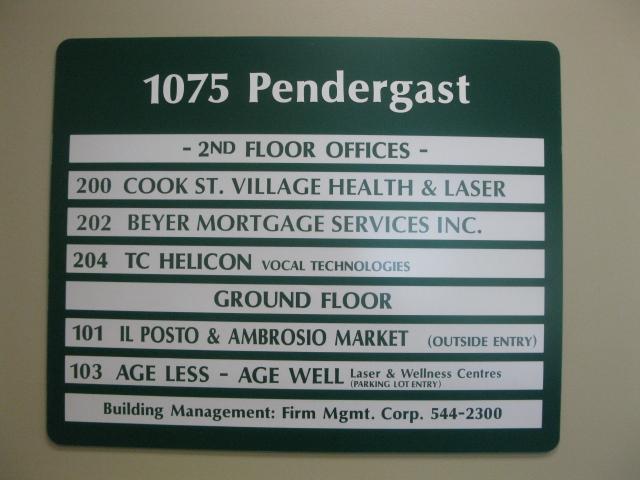 Pendergast directory