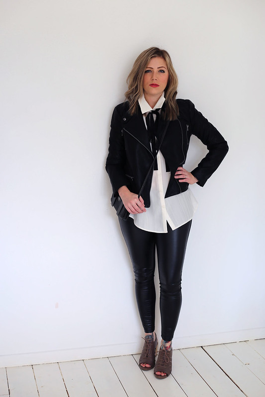#NextTake12 Next Tie Neck Blouse Outfit Post