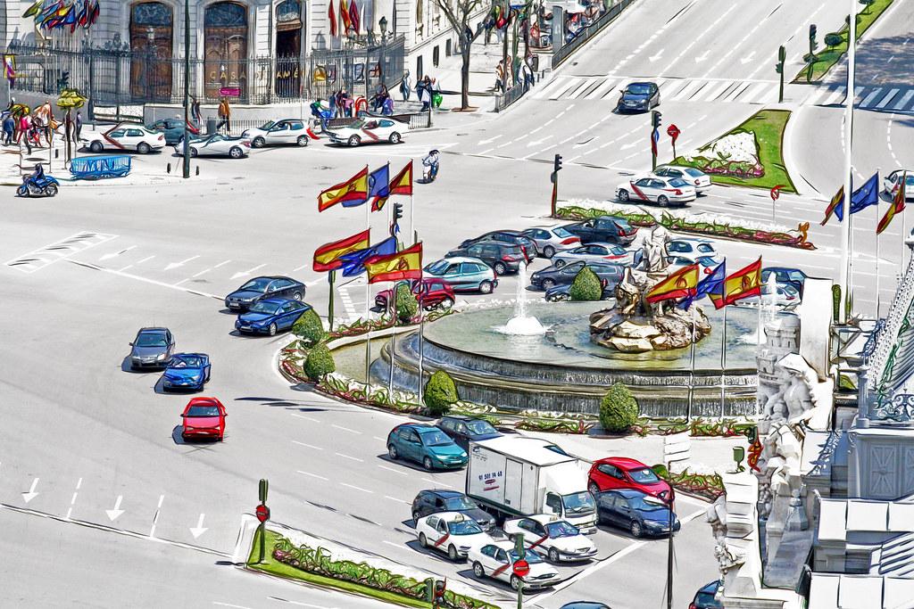 Plaza de la Cibeles en Madrid