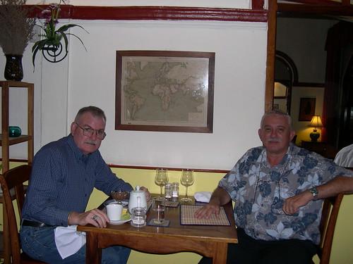 Howard Daniel and Maurizio Fumagalli